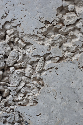 Texture: Deteriorating Concrete with Gravel
