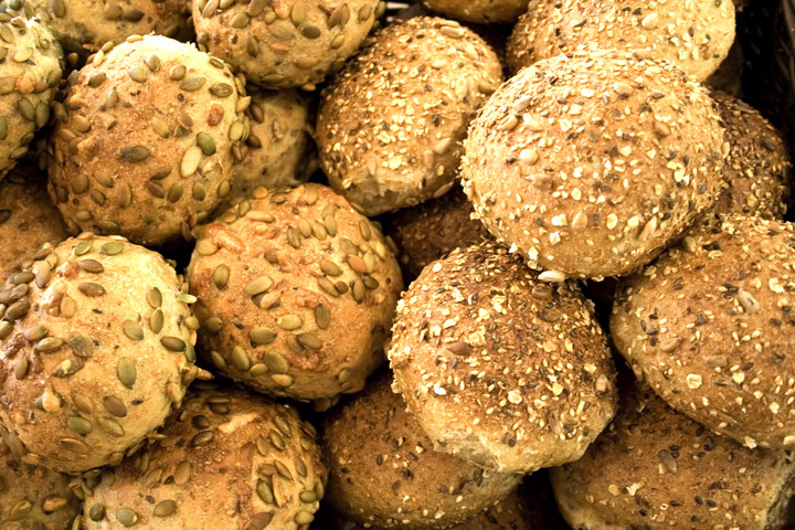 Pumpkin Seed and Whole Grain Buns