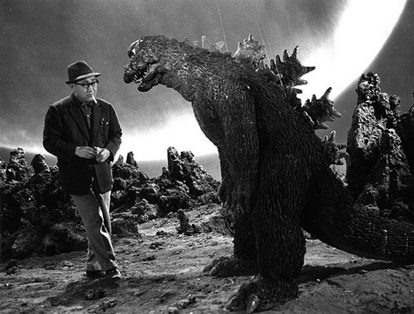 Eiji + Godzilla