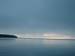 Calm seas (denizon51) Tags: morning blue water sunshine clouds seaside ripples