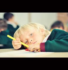 The calmness of being a child (::   VISUAL ARTIST ::) Tags: school boy student colombia bogota dof child bokeh colegio escuela nikkor50mmf18 nio calma calmness caucasian estudiante caucasico nikond90 mauriciovalenzuela colegiogimnasiovermont wwwvermonteduco