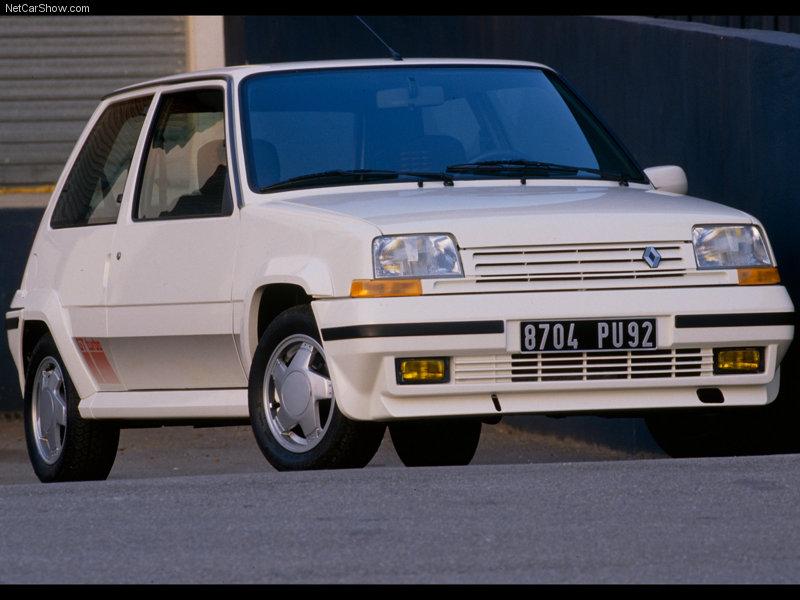 Renault 5 Gt Turbo Engine. Renault 5 GT Turbo 1990