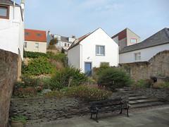 st monans garden (kilrenny) Tags: houses st garden fife monans