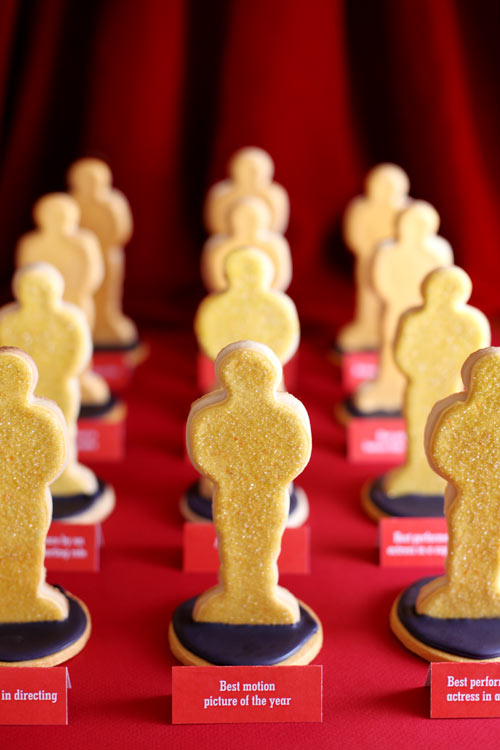 Movie Award Cookies
