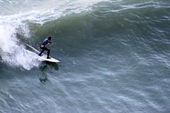 surfing land's end (artolog) Tags: ocean sanfrancisco california water coast surf waves pacific surfer wave surfing landsend goldengate athlete wetsuit ggnra nationalrecreationarea