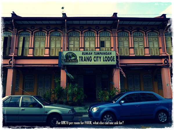 Trang City Lodge, Penang