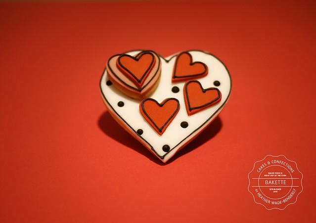 Bakette's Valentine's Day Cookies
