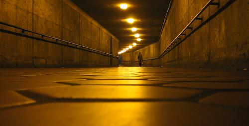 Metro hallway