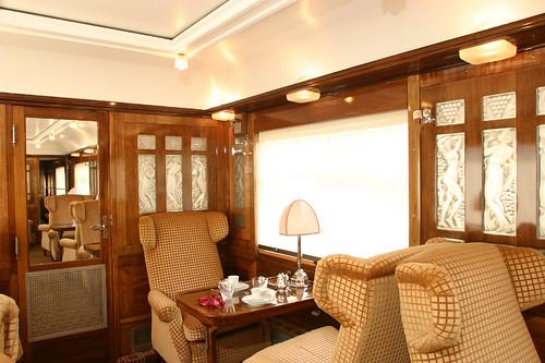 Pullman Orient Express - Fleche d'Or, interior