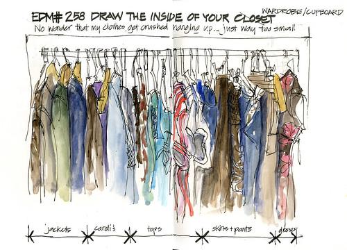 100205 EDM258 Draw inside your closet