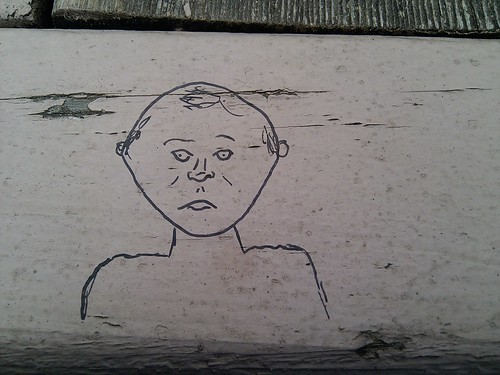 Bellevue Picnic Bench Graffiti