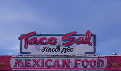 Since 1960 (grace_tee) Tags: albuquerque greenchile yearinpictures 32365 newmexicanfood february2010 tacosal 2010yip fontsandwords