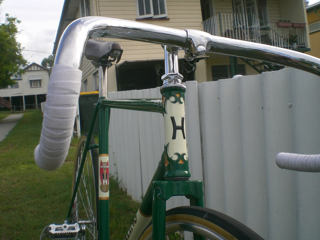 Healing 1940s Australian Track Bicycle