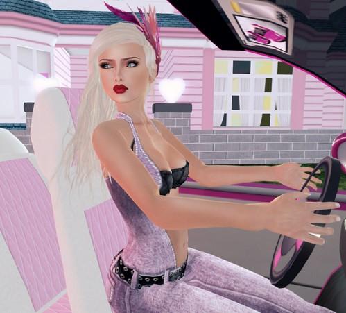 Barbie car vrooom vroommm
