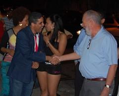 Pedro Antonio Valdez y Freddy Ginebra