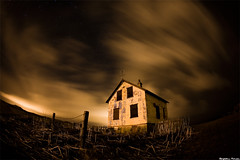 The Whisperer in Darkness (skarpi - www.skarpi.is) Tags: sky house storm night dead death iceland mood moody darkness farm ghost stormy haunted disturbing isolated sland reykjanes hauntedhouse thehaunted whisperer darkmood omot skarpi hlmur thewhispererindarkness