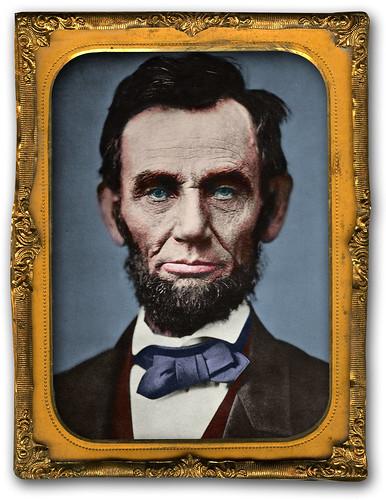 Abraham Lincoln w-frame