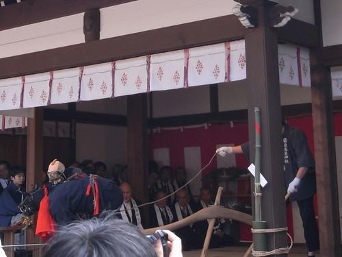 飛鳥坐神社(おんだ祭)@明日香村-05
