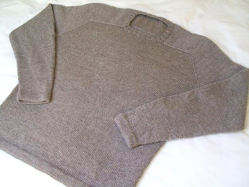 EZ seamless hybrid sweater