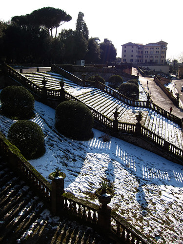 Frascati and snow