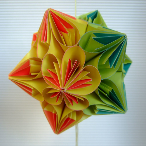twisted kusudama 1