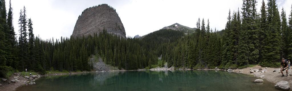 See oberhalb von Lake Louise
