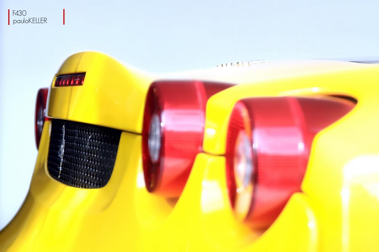 YELLOW - Ferrari F430 Scuderia