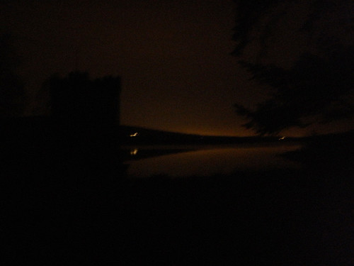 Roundwood Reservoir at night, lol..