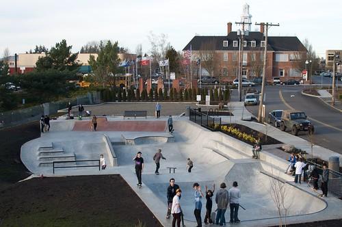 Gresham, Oregon skate park