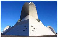 Auditorio ([Unlimited]) Tags: blue sky azul canon arquitectura auditorio cielo tenerife 450d