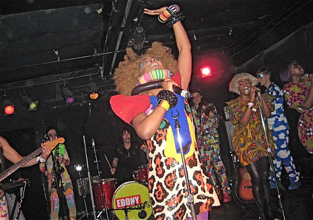 Ebony Bones in NYC 2/13/2010 @ Southpaw Bar