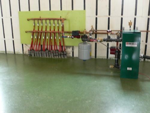 Boiler - Hydronic floor system