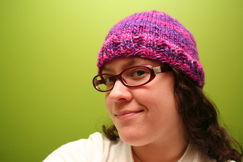 53/365: One Day Handspun Hat