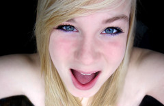 Where's my dinner? (Calli.Ann) Tags: pink blue boy white black cute love girl smile sex cat naked outside mouse google pretty purple edited photoshopped kisses sunny canadian teen blond scream teenager inside inlove