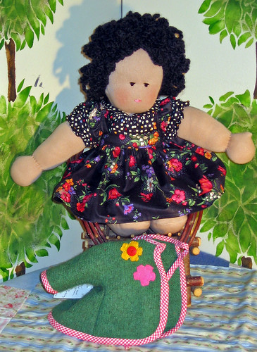 waldorf doll libby with out jacket
