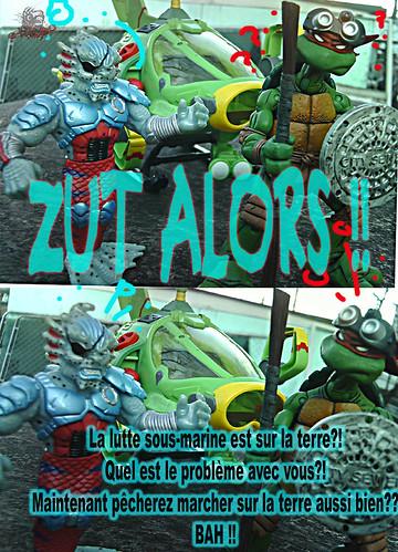 Teenage Mutant Ninja Turtles :: SHELL SUB..; zut alors !!