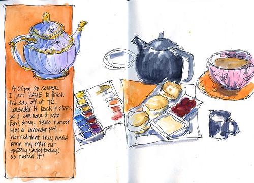 100227 Sketchcrawl 20_08 Afternoon Tea