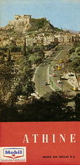 Sixties Athens map front cover (nipolit) Tags: greek 60s map hellas mobil athens greece acropolis sixties ελλάδα ακρόπολη αθήνα ελληνικό ελλάσ ηρώδου αττικού χάρτησ