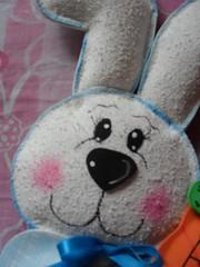 (Cleva's crafts) Tags: eva artesanato coelho pascoa bundo