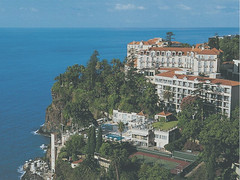 870208 Reid's Palace Hotel, Madeira, Funchal (rona.h) Tags: 1987 february madeira funchal cloudnine ronah