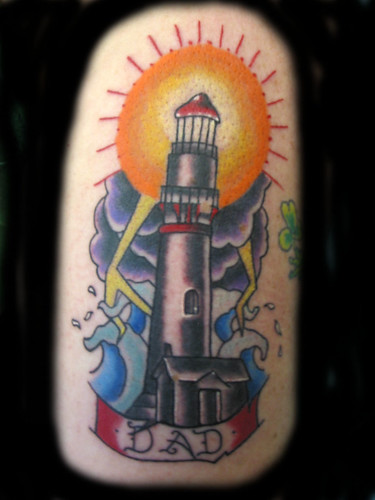 lighthouse tattoo diddy