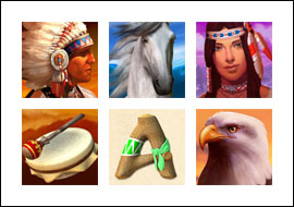 free Wild Spirit slot game symbols