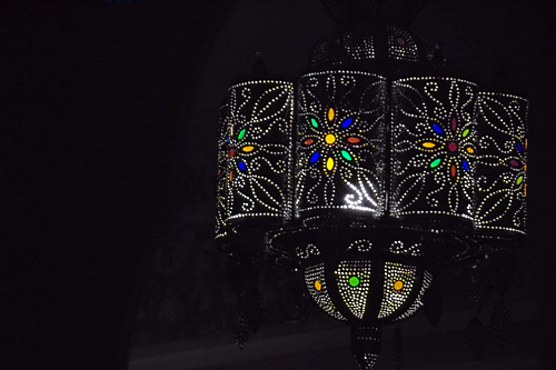 Moros-lampa