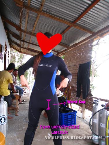 oversized wetsuit