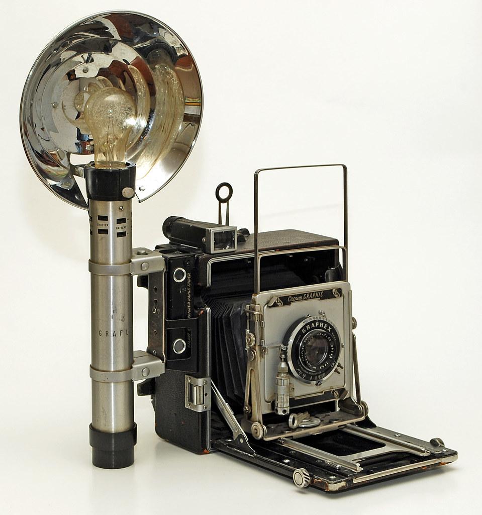 Graflex Crown Graphic press camera, 1947-1973