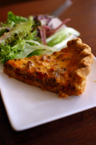 quiche at Tillikum Place