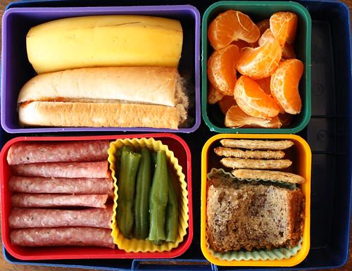 Kindergarten Bento #301: March 11, 2010