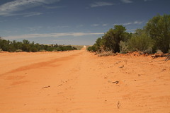 Outback Road, Kinchega National Park (Strepto) Tags: road nationalpark australia outback menindee reddust kinchega markfavs