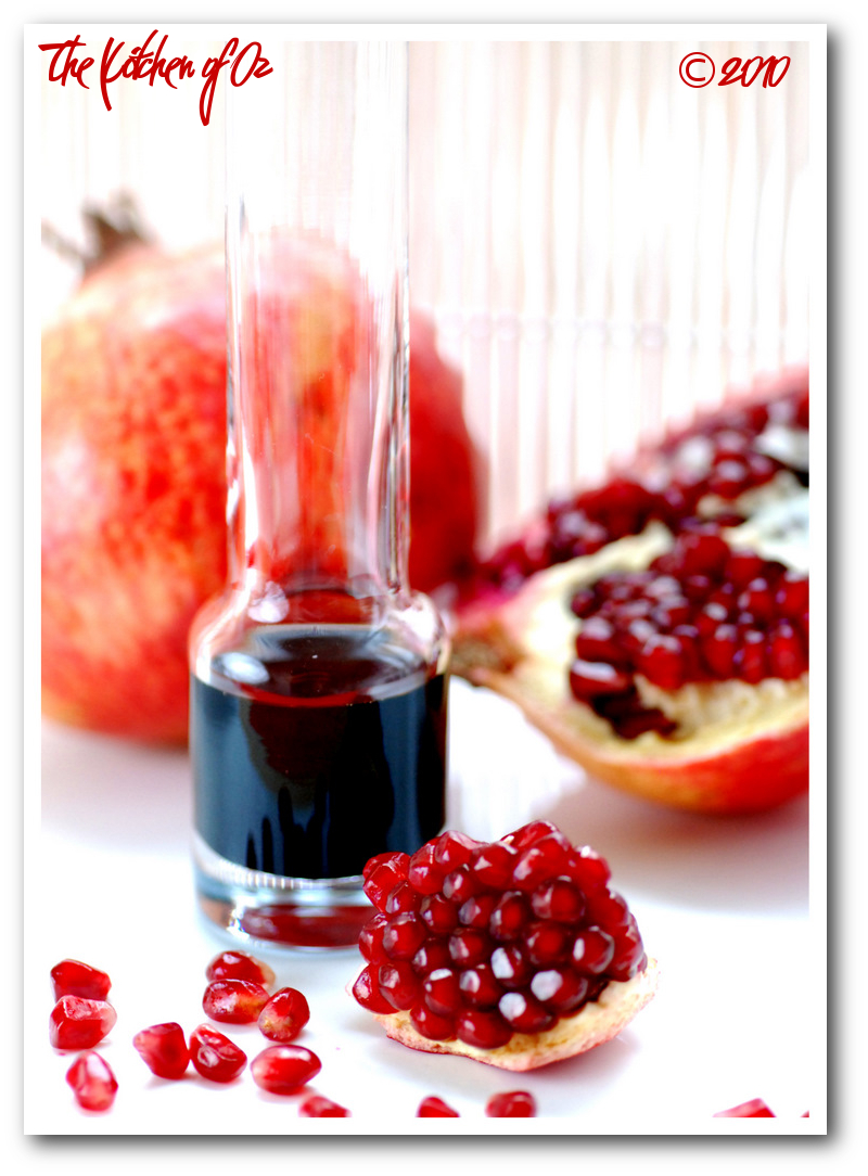 Pomegranate & Pomegranate Syrup