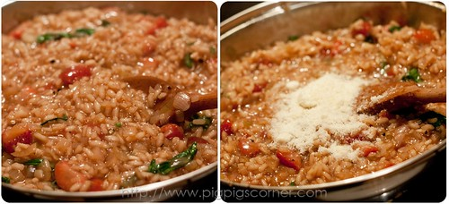 strawberry risotto with balsamic vinegar 6
